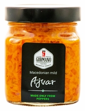 <font color=red><b>NEW!!!</font></b> GURMANO Ajvar Mild 300g (10.6oz)
