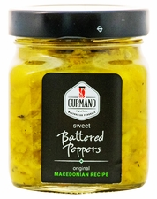 <font color=red><b>NEW!!!</font></b> GURMANO Battered Peppers 300g (10.6oz)