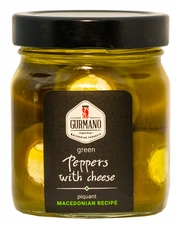 <font color=red>NEW!!!</font> GURMANO Green Peppers with Cheese 290g (10.2oz)