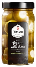 <font color=red>NEW!!!</font>GURMANO Green Peppers with Cheese 470g (16.6oz)