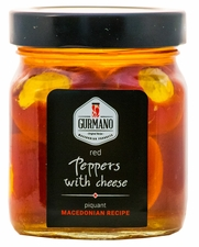<font color=red><b>NEW!!!</font></b> GURMANO Red Peppers with Cheese 290g (10.2oz)