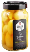 <font color=red><b>NEW!!!</font></b> GURMANO Yellow HOT Peppers 430g (15.2oz)