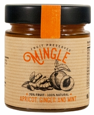 <b><font color=red>Christmas Special!</b></font> Mingle Apricot, Ginger & Mint Preserves