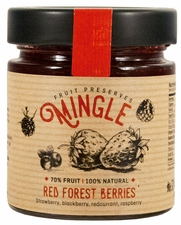 <b><font color=red>SPRING Special!</b></font> Mingle Red Forest Berries Preserves