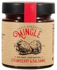 <b><font color=red>SPRING Special!</b></font> Mingle Strawberry & Balsamic Preserves