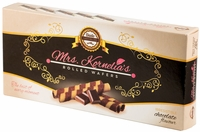 <font color=red><b><i>NEW!!!</font></b></i> Mrs. Kornelia's Rolled Wafers - Chocolate - Case of 12 Boxes