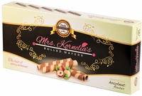 <font color=red><b><i>NEW!!!</font></b></i> Mrs. Kornelia's Rolled Wafers - Hazelnut - Case of 12 Boxes