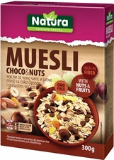 Natura Muesli with Choco & Nuts - Case of 8 Boxes