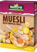 Natura Muesli with Tropical Fruit - Case of 8 Boxes