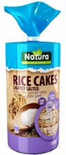 Natural Rice Cakes - Lightly Salted - Case of 12 Bags