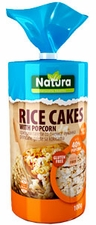 Natural Rice Cakes - Popcorn - Case of 12 Bags