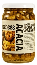 SEEBEES Acacia Honey with Walnuts