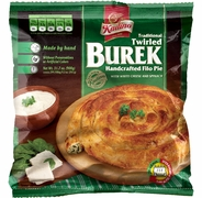 Twirled Burek w/ Cheese & Spinach
