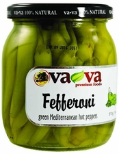 VA-VA Hot Green Fefferoni Peppers