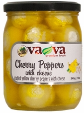 VA-VA Yellow Cherry Peppers w/ Cheese