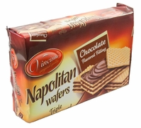Vincinni Napolitan Triple Layer Chocolate Wafers - Case of 18 Packs