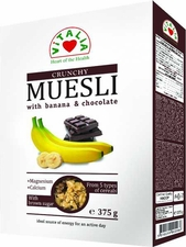VITALIA Banana & Chocolate Muesli - Case of 6