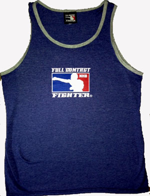 FCF FASHION TANK BLUE