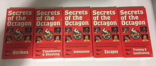 UFC Secrets of the Octagon Five Tape Set VHS