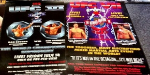 VINTAGE UFC/SEG POSTERS SOLD OUT