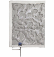 """18""""x24"""" Cello Cucoloris - Stainless Steel Frame"""