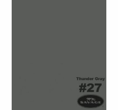 "27 Thunder Gray Savage Seamless Paper 107""x12yds"