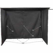 "30""X36"" Monitor Sun Shield with Pouch  VE3036.ME"