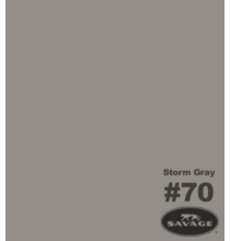 "70 Storm Gray Savage Seamless Paper 53""x12yds 70-1253"