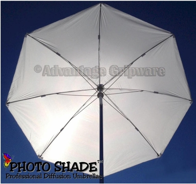 Advantage 7.5ft Photo Shade Umbrella Halo Silk White