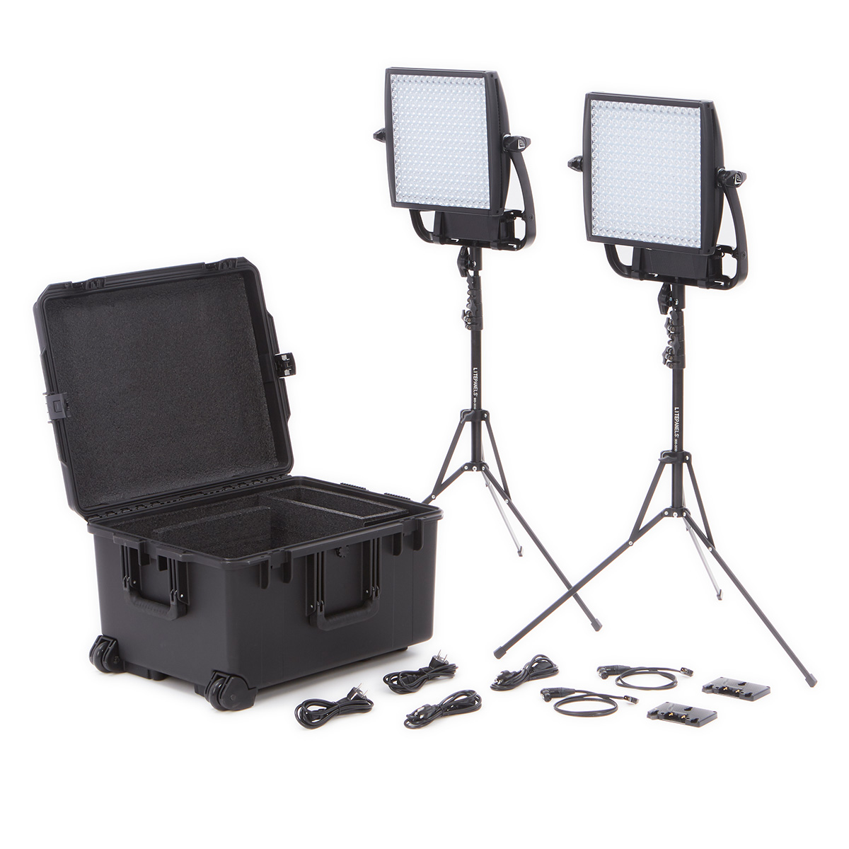Astra 6x 1x1 Led Duo Traveler Kit Gold Mount