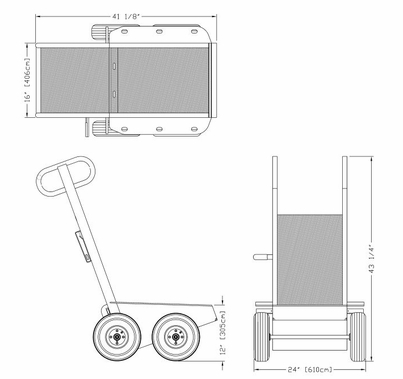 BackStage Equipment Cable|Sandbag Cart Mini