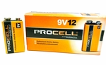 Batteries 9V, AA, AAA, Duracell ProCell