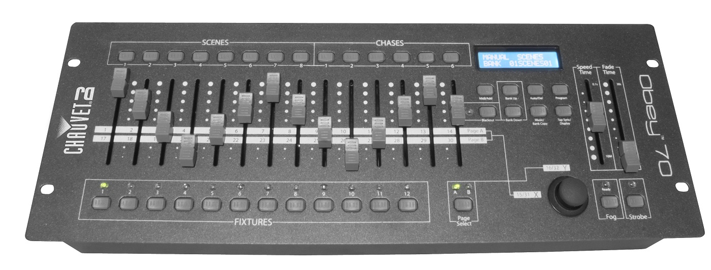 Chauvet Obey 70 Lighting Control