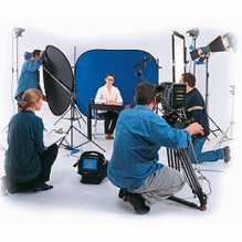 Collapsible Chroma Key Green Blue Screens