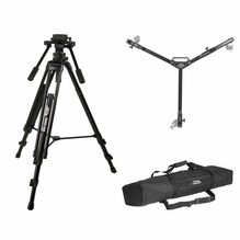 Davis & Sanford ProVista 75mm Tripod Kit, Includes Dolly and Bag
