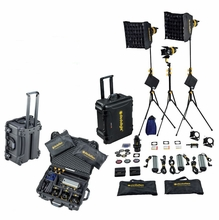 Dedolight 3 Light LED Light Kit DLED7 Turbo - DAYLIGHT