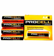 Duracell ProCell AA Battery Alkaline - 4 Pack