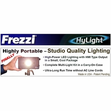 Frezzi HyLight LED Portable Studio Quality Lighting