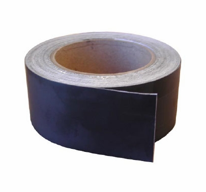 GAM BlackWrap Tape 2in x 80ft Roll Black Aluminum Foil
