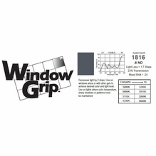 "GAM WindowGrip .6ND Neutral Density Window  Gel 48"" x 25ft #1816 ND6"