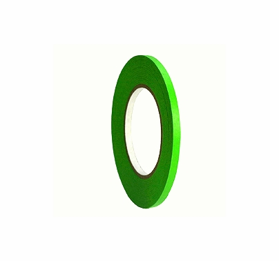 "Green Paper Tape 1/4"" x 60 yds Permacel 724"