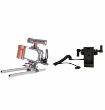 Ikan Tilta Rig & Dual Rod Mount DV Power Kit  - Sony L