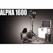 K5600 Alpha 1600w HMI Fresnel Kit