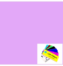"Lee 052 Light Lavender Lighting Gel Filter Sheet 21""x24"""