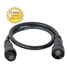 Lex 20 Amp 6 Circuit LSC 19 Pin EverGrip Molded Multi Cable Ext 125ft