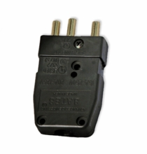 Lex 20A Male Inline Stage Pin Plug  Connector 2P20G-M  Bates