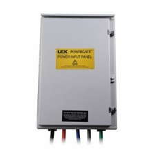 Lex 400A 3 Phase Power Input Panel Exterior Generator Hook Up 120/208