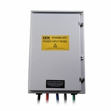 Lex 400A 3 Phase Power Input Panel Exterior Generator Hook Up 277/480