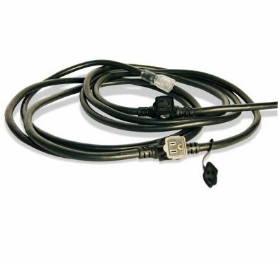 "Lex Orchestra E-String 6 Outlet 23' 4"" Black Ext. Cord Orchestra String, 12/3, 23' 4"""