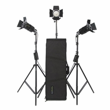 LimeLite Pixel 300 3 Head Tungsten Light Kit